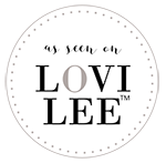 Lovilee Badge Round as seen on