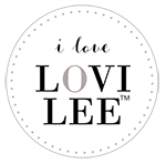 Lovilee badge Round i love