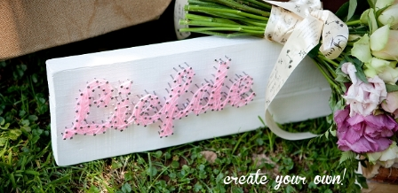 Nail it with words {craft idea}