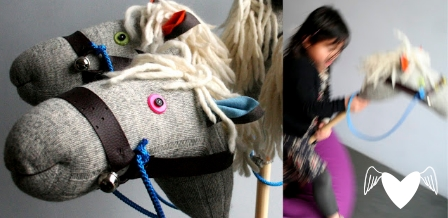 Sock stick horse {tutorial}