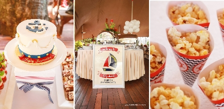 A nautical baby shower {Match Set Love}