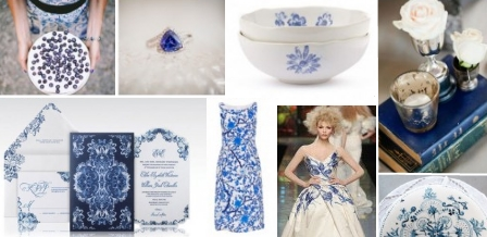 Delightful delft inspired blue + white weddings are Lovilee