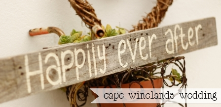 Cape Winelands Wedding {CB Memories}
