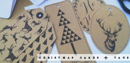Christmas Cheer: Printable Cards + Tags