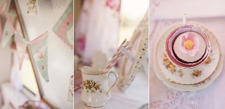 Sweet tea in Daisy {the caravan}