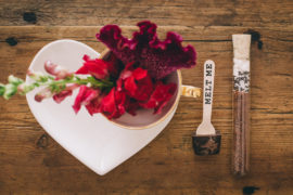 Marsala Wedding and hot chocolate table styled shoot