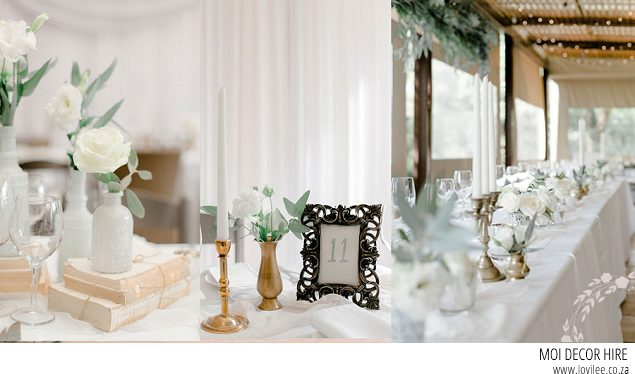 Moi Decor Johannesburg wedding decor hire