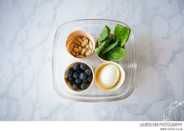 Healthy lunch box ideas - vegetarian