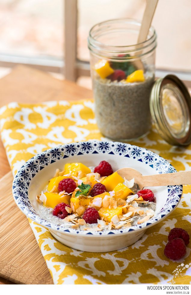Mango & Chia pudding recipe