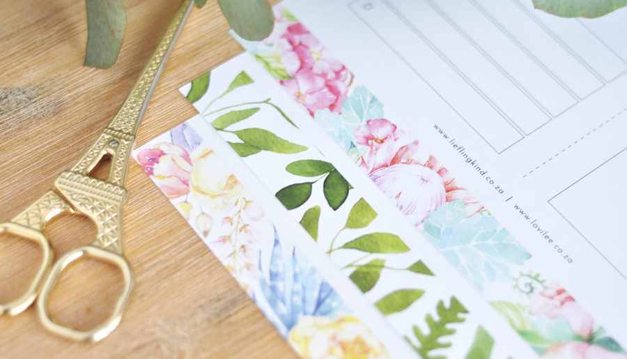 Download daily and weekly free planner printables