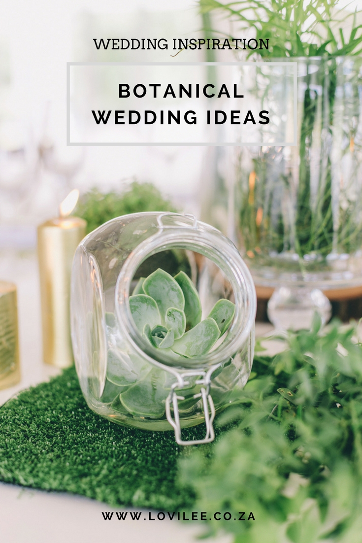 Botanical wedding theme shoot by Carike Ridout Photography