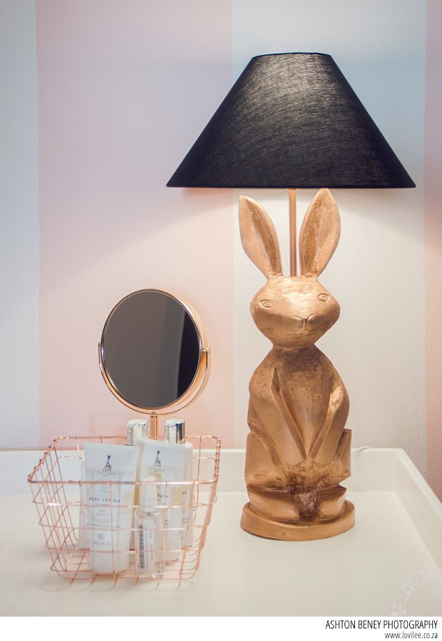 Custom Bunny lamp by Ninho Interiors