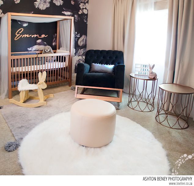 gorgeous bunny themed nursery