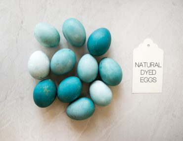 vegetable dye Easter eggs