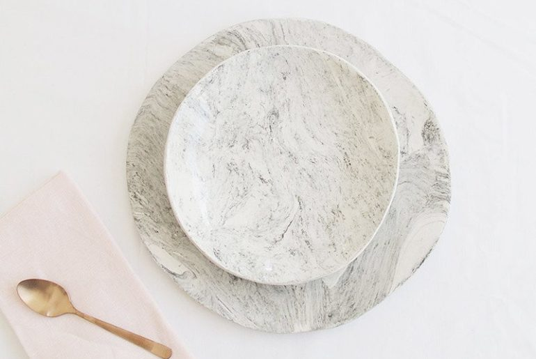 Klomp Ceramics 'The Collection' Large and small plate