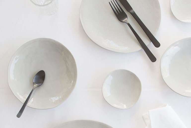 Klomp Ceramics 'Everyday range' dinner set