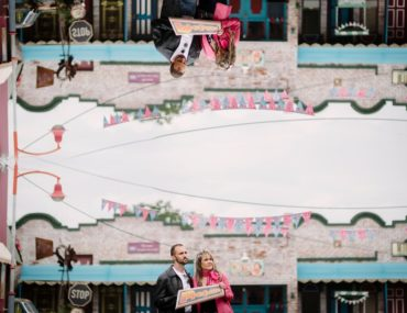 Pretville engagement shoot