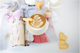 Coffee mug heart biscuits recipe