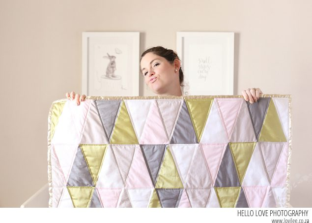 See Kate Sew Traingle quilt