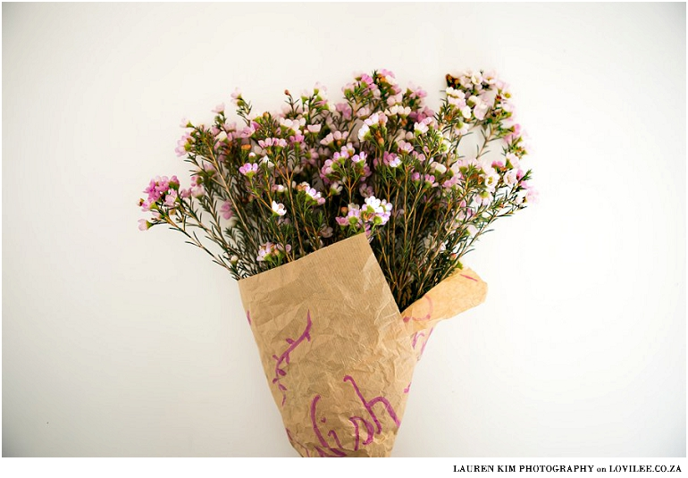 How to wrap a flower bouquet 4 different ways lovilee blog how to wrap flowers with brown paper mightylinksfo