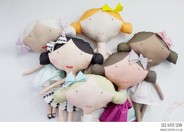 See Kate sew fabric doll tutorial