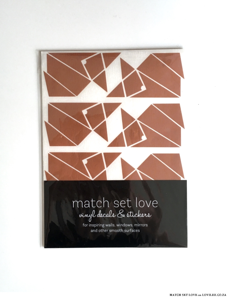 Match Set Love origami Foxes decals