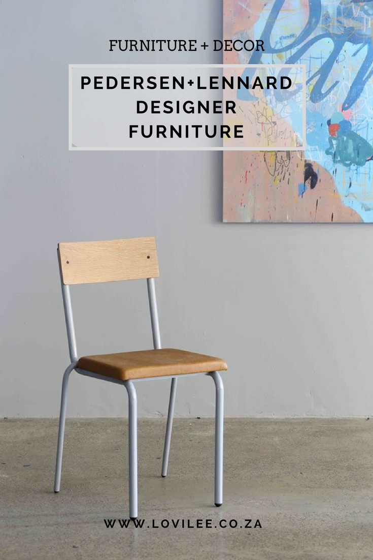 Pedersen+Lennard local decor and furniture design