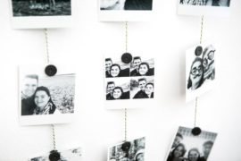 Photo hanger DIY tutorial