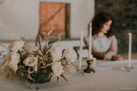 Minimalist Wedding inspiration by Kadou Flowers