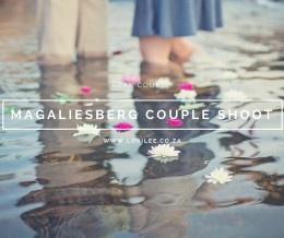 Magaliesberg couple shoot in water