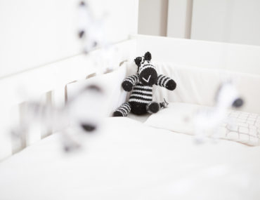 Soft toy DIY - knitted Zebra