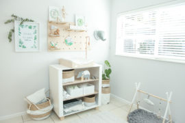 greenery nursery decor inspiration
