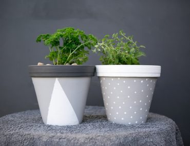 Planter DIY make-over