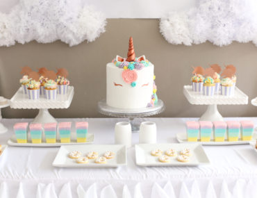 Magical Pastel and Rose Gold Unicorn Party