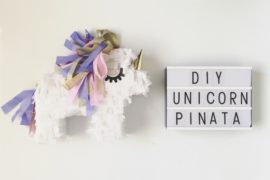 DIY mini unicorn Piñata