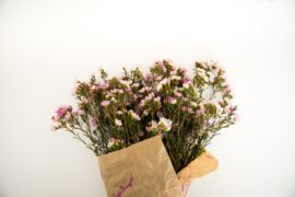 how to wrap flowers by Lauren Kim Photography