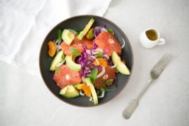 Fennel and Grapefruit summer salad recipe