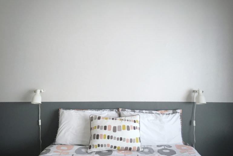Prominent paints bedroom make-over