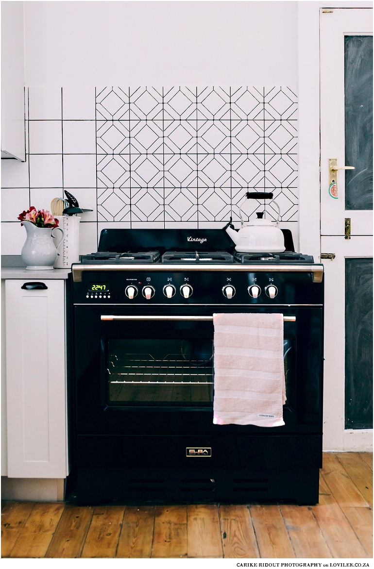 Vinyl Sticker DIY backsplash