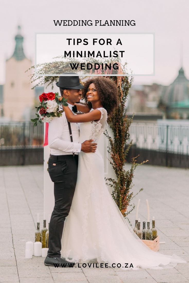 How to bring the minimalism trend into your wedding