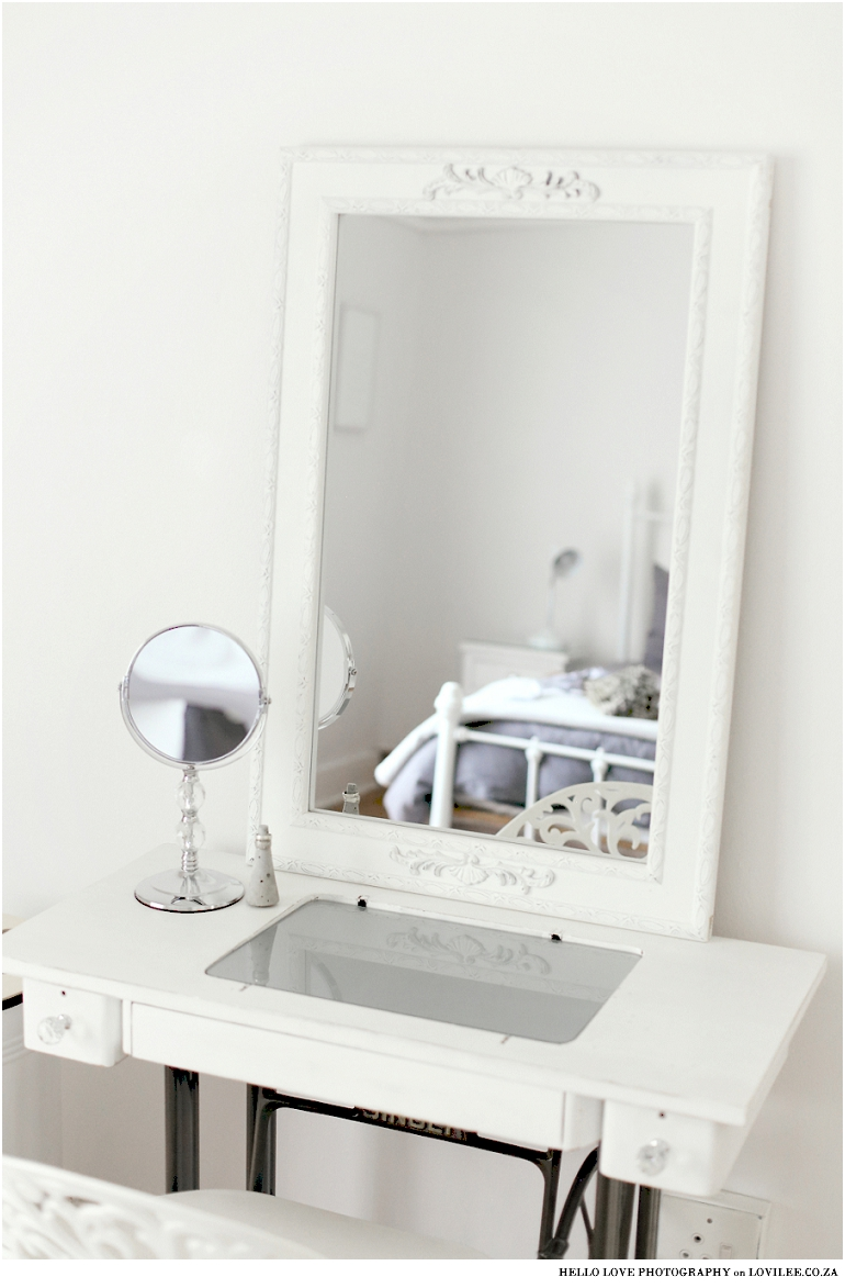 DIY Dressing table from old sewing table