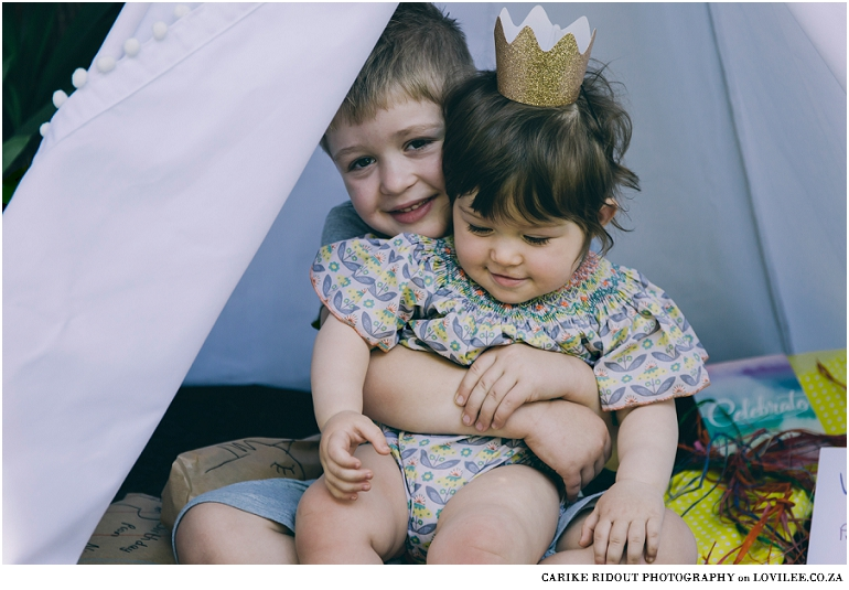 Kids in a My Tiny Teepee custom  Teepee