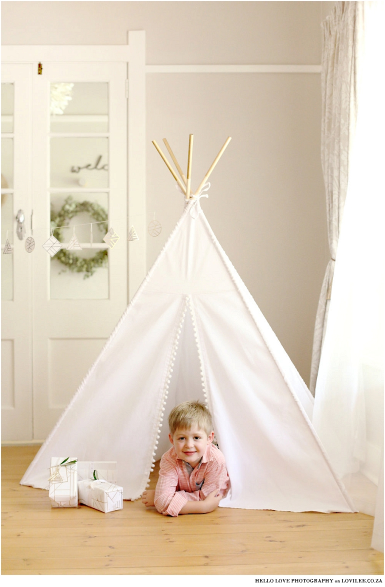 My Tiny Teepee custom Kids Teepee