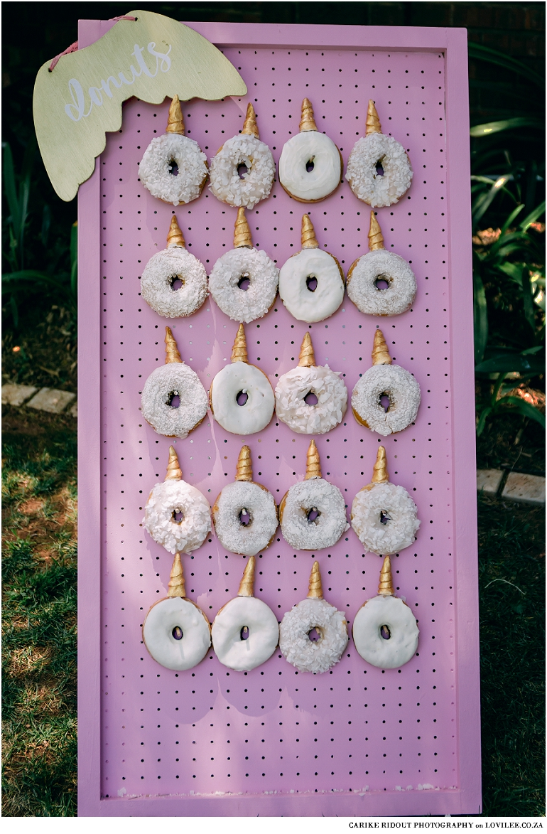 Pink Donut wall from Dope Donuts