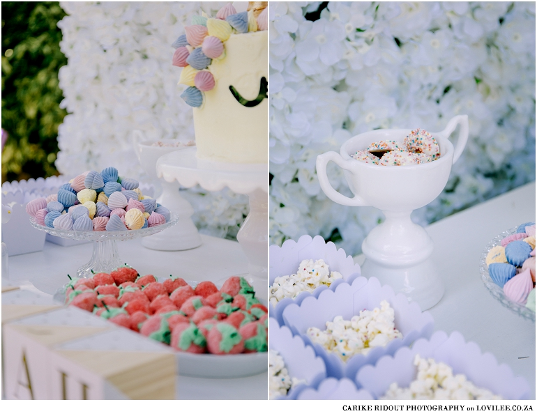 Unicorn party candy table