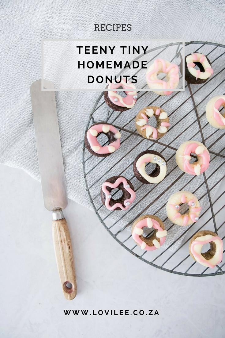 Mini donut recipe by Lauren Kim Food Photography
