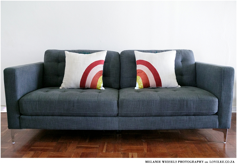 Sew A Zippered Pillow Cover For Rainbow