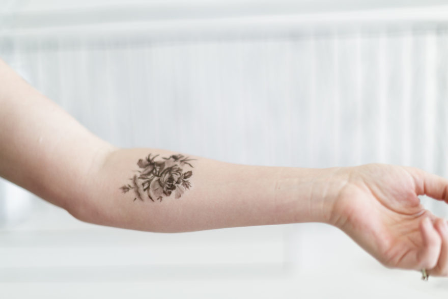 How to make your own temporary tattoo art | Lovilee Blog