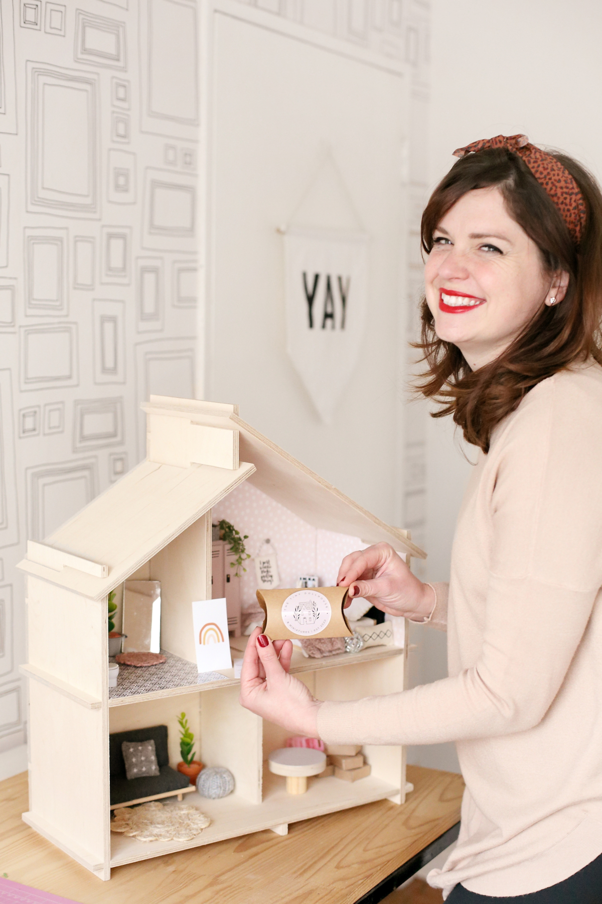 Karen Kelly Owner of The Tiny Dollhouse South Africa