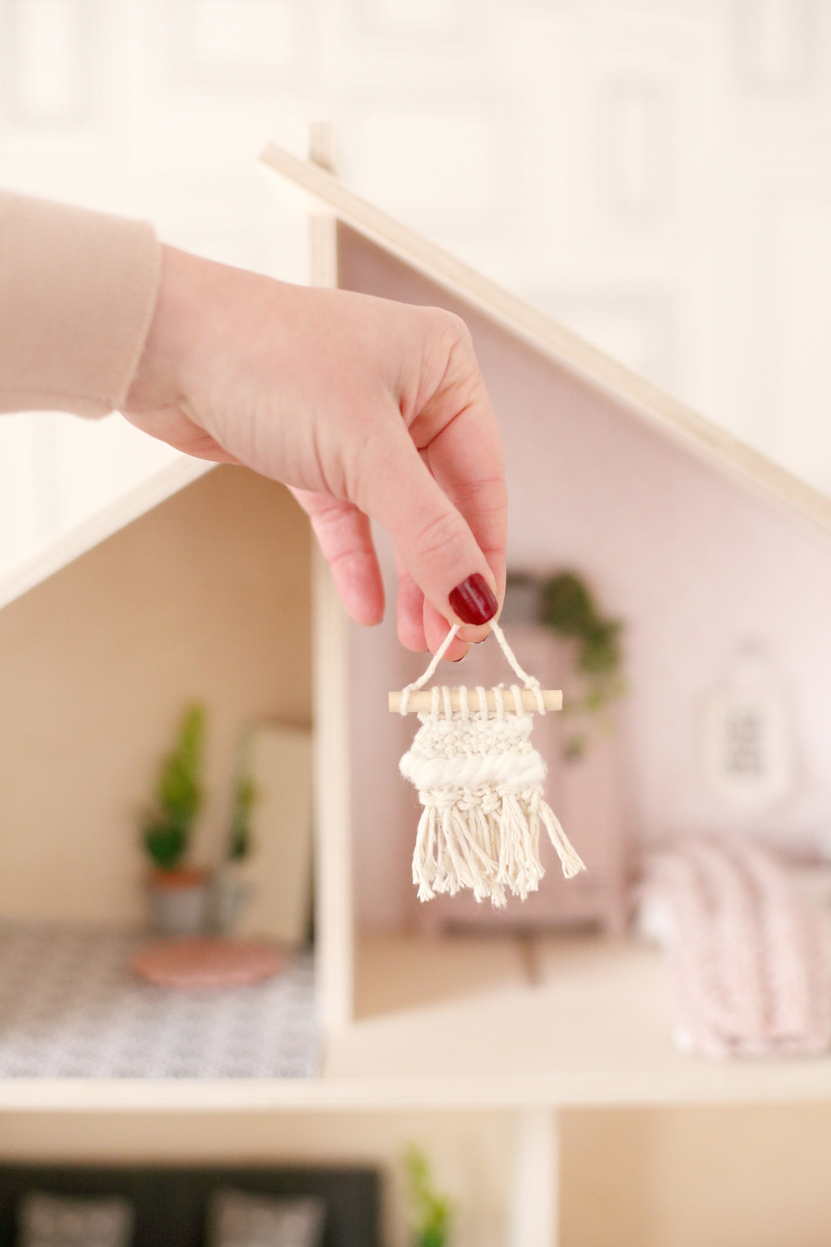 Miniature Wall hanging by The Tiny Dollhouse